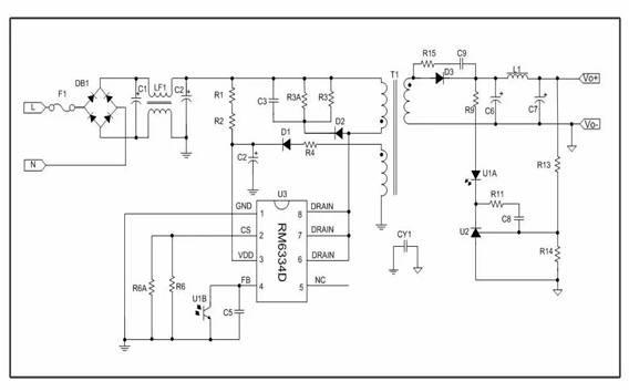 亚成微电子推出12v/1.5a六级能效机顶盒电源应用方案